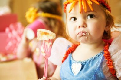 toddler eating hemp